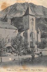 Ispagnac Place De L'Eglise - Ispagnac