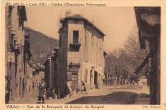 Villefort Rue De La Bourgade Et Avenue Du Bosquet (cliché pas courant - Villefort