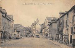 La Canourgue La Place Du Portalou - La Canourgue