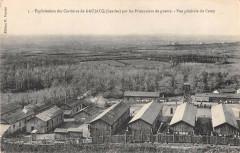 Exploitation Des Carrieres De Gaujacq Par Les Prisonniers Vue Camp - Gaujacq