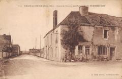 Belan Sur Ource Route De Grancey Sur Ource Cafe Perthuisot - Ancey