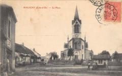 Maligny La Place (cliché pas courant - Maligny