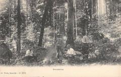 Massiac Cantal Exploitations Forestieres E.chabrillat Bucherons - Massiac