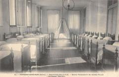 Fontenay Sous Bois Institution Belle Vue Grand Dortoir 94 Fontenay-sous-Bois