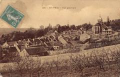 Saint Prix Vue Generale (cpa émail - Saint-Prix
