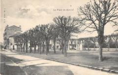 Ermont La Place Du Marche - Ermont