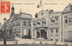 Maisons Alfort Salle Des Fetes Et La Mairie 94 Maisons-Alfort