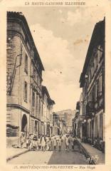 Montesquieu Volvestre Rue Mage - Montesquieu-Volvestre