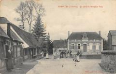 Marolles La Place Et Hotel De Ville - Marolles