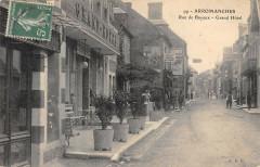 Arromanches Rue De Bayeux Grand Hotel (cpa pas courante 14 Bayeux