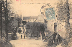 Ouilly Le Tesson La Forge L'Ecole L'Eglise - Esson
