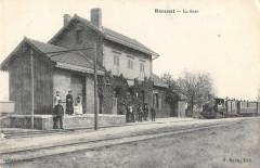 Ravenel La Gare (Train cliché rare - Ravenel