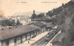 Vienne Vue Interieure De La Gare (Train - Vienne
