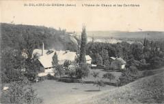 Saint Hilaire De Brens L'Usine De Chaux Et Les Carrieres - Saint-Hilaire-de-Brens