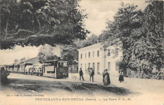 Pontcharra Sur Breda La Gare P.L.M. (Train - Pontcharra