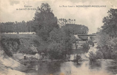 Le Pont Canal A Hoericourt Moeslains - Moëslains
