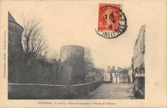Dourdan Rue De Chartres Et Fosses Du Chateau - Dourdan