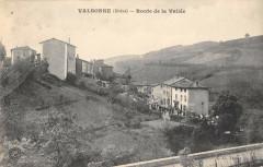 Valsonne Route De La Vallee - Valsonne