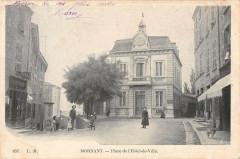 Mornant Place De L'Hotel De Ville (dos non divisé) - Mornant