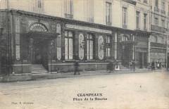 Paris IIe art Champeaux Place De La Bourse - Paris 2e
