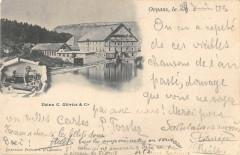 Ornans Usine C.olivier Et Cie (dos non divisé) - Ornans
