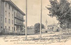 Grand Hotel Du Lac A Malbuisson (dos non divisé) - Malbuisson