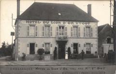 Cressanges Hotel Du Lion D'Or Tenu Par Mme Veuve Got - Cressanges