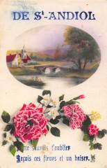 De Saint Andiol Recois Ces Fleurs - Saint-Andiol