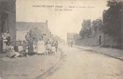 Monchecourt La Rue D'Aniche - Monchecourt