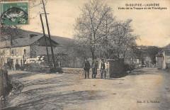 Saint Sulpice Lauriere Vues De La Trappe Et De Frontignac - Laurière