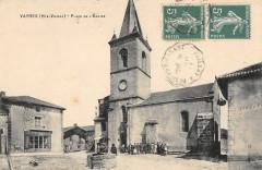 Vayres Place De L'Eglise (cliché pas courant - Vayres