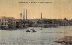 Chatellerault Manufacture Nationale D'Armes (cpa toilée émaillée - Châtellerault