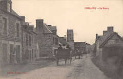 Folligny Le Bourg (cpa pas courante - Folligny