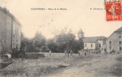 Cognieres Place De La Mairie (cliché pas courant - Cognières