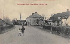 Beaurepaire En Bresse Grande Rue - Beaurepaire-en-Bresse