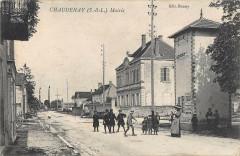 Chaudenay Mairie (cliché pas courant - Chaudenay