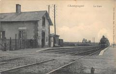 Champagne La Gare (Train - Champagné