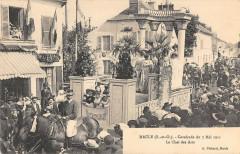 Maule Cavalcade Du 7 Mai 1911 Le Char Des Arts - Maule