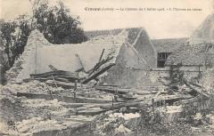 Cravant Le Cyclone 1905 Maisons En Ruines - Cravant