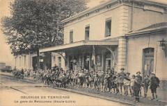 Colonies De Verrieres La Gare De Retournac - Retournac