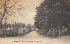 Le Houga Tournee De Mormes (cliché pas courant - Mormès