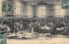 La Souterraine Ecole Primaire Superieure Refectoire (cliché rare - La Souterraine