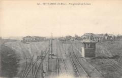 Petit Croix Vue Generale De La Gare - Croix