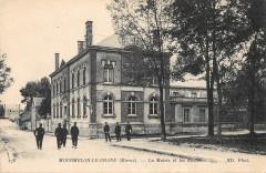 Mourmelon Le Grand La Mairie Et Ecoles - Mourmelon-le-Grand