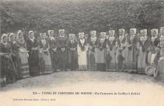 Types Et Costumes Du Poitou Un Concours A Echire - Échiré
