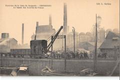 Env.gare De Berguette  Isbergues Le Bassin Des Acieries De France - Isbergues