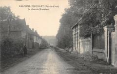 Calonne Ricouart La Chaussee Brunehaut (cliché pas courant - Calonne-Ricouart