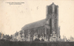 Saint Martin Boulogne Eglise Et Cimetiere - Saint-Martin-Boulogne