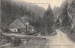 Route De Fontaine A Saint Hippolyte La Reverotte - Fontain