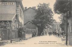 Capdenac Gare La Poste Rue Carnot - Capdenac-Gare